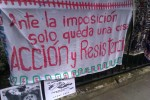 "Peruvian embassy protest  ""Action & Resistance"""