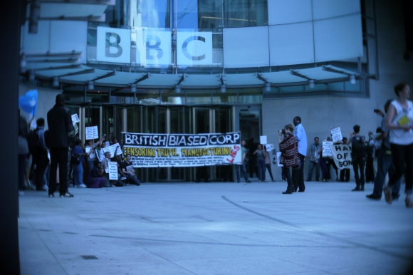 New photo from the BCC demonstration