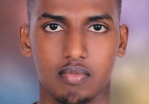 A more recent photograph of former Haverstock School pupil Mahdi Hashi