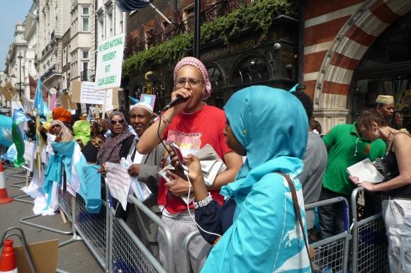 Hands off Somalia speakers
